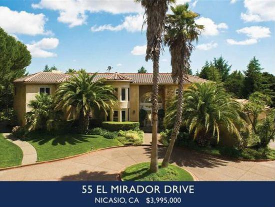 55 El Mirador Dr, Nicasio, CA 94946