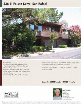 336 El Faisan Dr, San Rafael, CA 94903