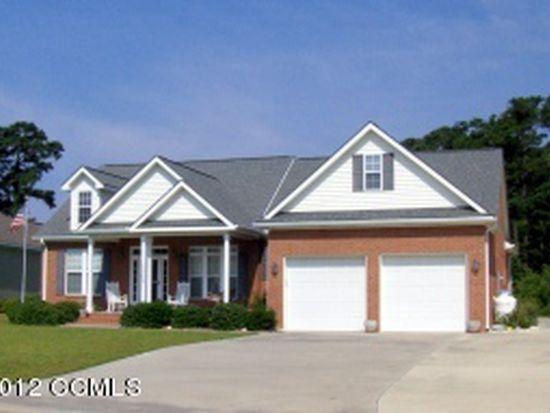 1705 Club House Dr, Morehead City, NC 28557