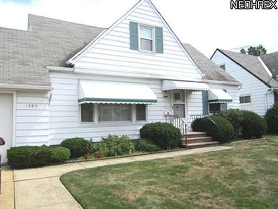 1553 Chelmsford Rd, Cleveland, OH 44124
