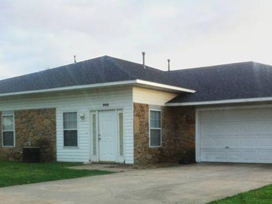 985 N Daisy Ln, Fayetteville, AR 72704