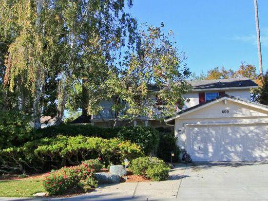 609 Princeton Dr, Sunnyvale, CA 94087