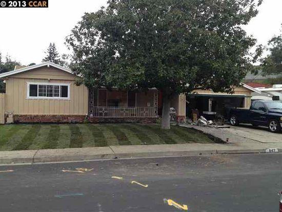 847 Vaqueros Ave, Rodeo, CA 94572