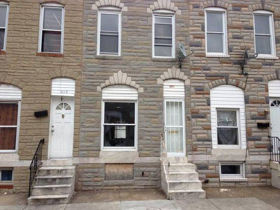617 N Glover St, Baltimore, MD 21205