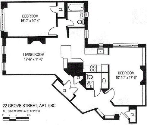22 Grove Street #6 FLOOR, New York, NY 10014
