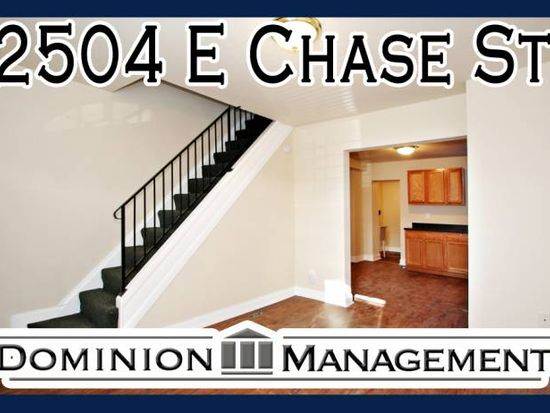 2504 E Chase St, Baltimore, MD 21213