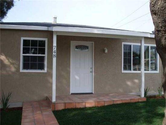 748 Morrison St, San Diego, CA 92102