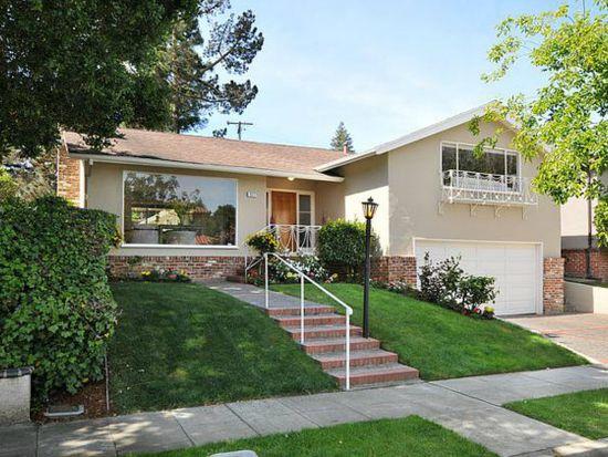 1317 Carlos Ave, Burlingame, CA 94010