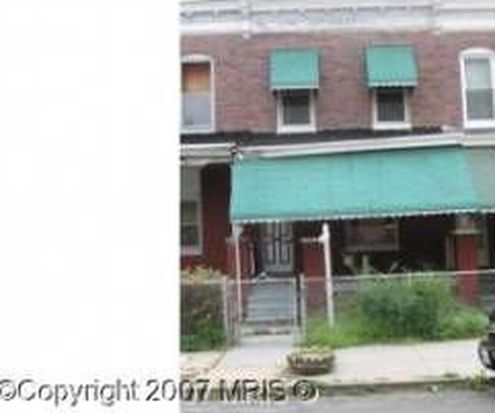 1011 N Ashburton St, Baltimore, MD 21216
