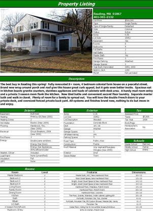 15 Lothrop Rd, Reading, MA 01867
