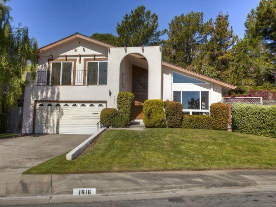 1616 Oakwood Dr, San Mateo, CA 94403