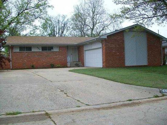 6805 N Comanche Ave, Warr Acres, OK 73132