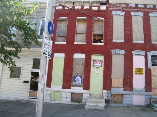 1815 E North Ave, Baltimore, MD 21213
