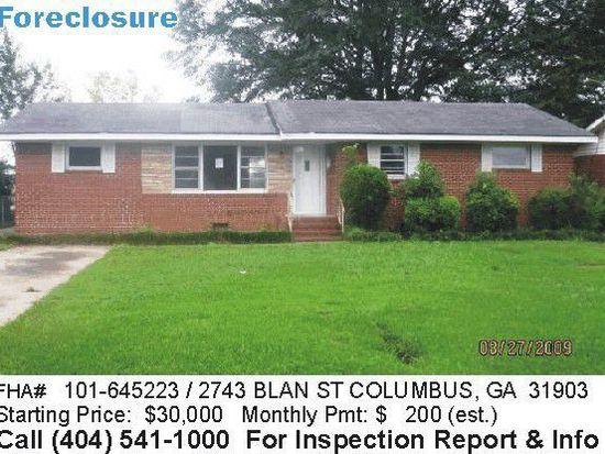 2743 Blan St, Columbus, GA 31903