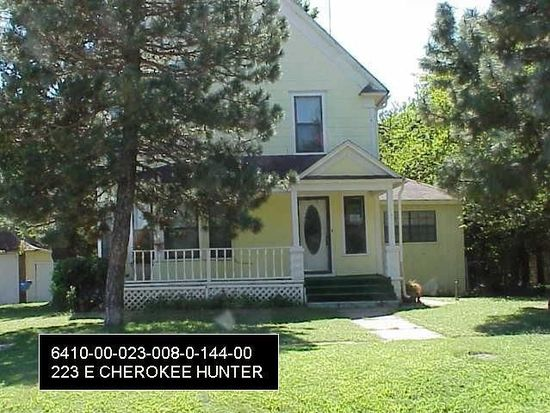 223 E Cherokee St, Hunter, OK 74640