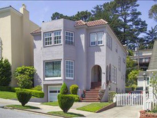 30 Santa Rita Ave, San Francisco, CA 94116