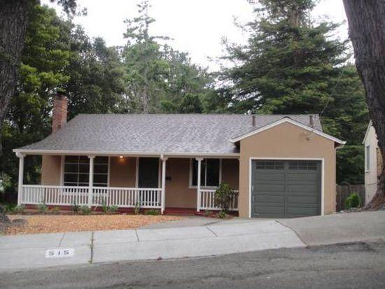 515 Park Blvd, Millbrae, CA 94030
