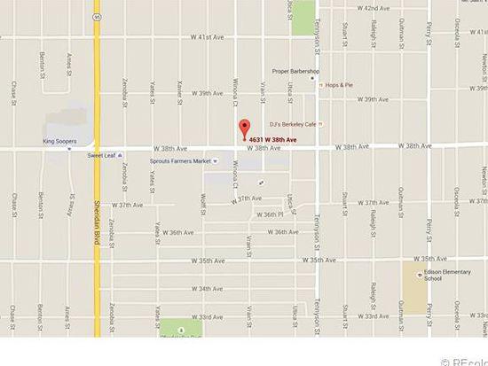 4631 W 38th Ave, Denver, CO 80212