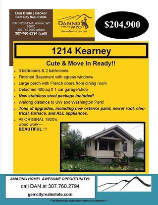 1214 E Kearney St, Laramie, WY 82070