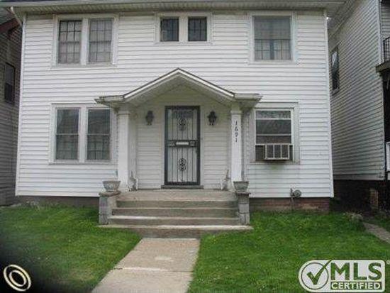 1691 W Euclid St, Detroit, MI 48206
