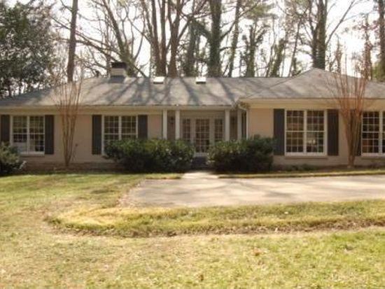 1190 W Wesley Rd NW, Atlanta, GA 30327