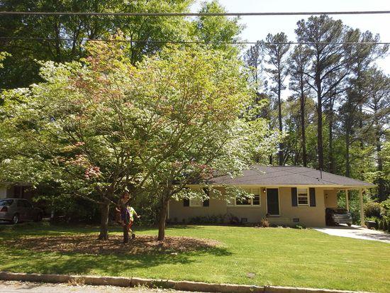 1867 Jan Hill Ln NE, Atlanta, GA 30329