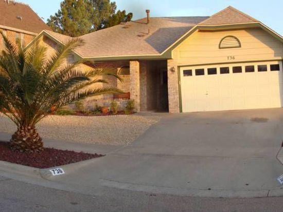 736 Colchester Dr, El Paso, TX 79912