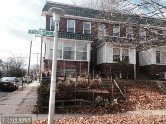 3310 Westerwald Ave, Baltimore, MD 21218