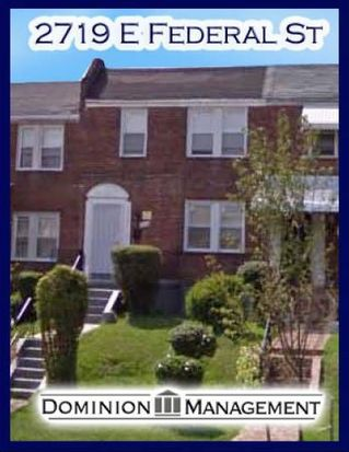 2719 E Federal St, Baltimore, MD 21213