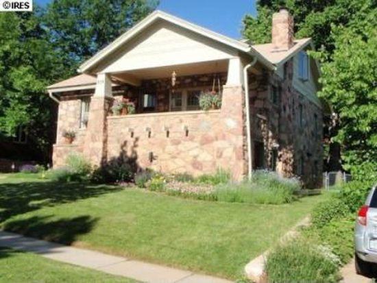 835 Grant Pl, Boulder, CO 80302
