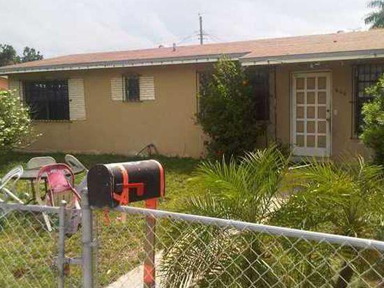 600 N Perviz Ave, Opa Locka, FL 33054