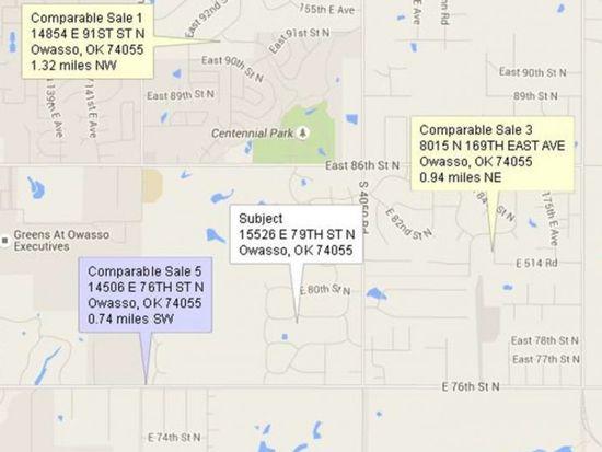 15526 E 79th St N, Owasso, OK 74055