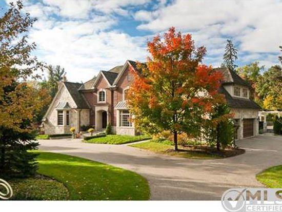 1055 Orchard Ridge Rd, Bloomfield Hills, MI 48304