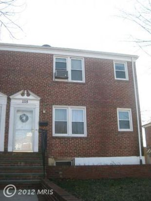 1115 Cedarcroft Rd, Baltimore, MD 21239