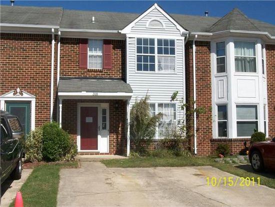318 Fairfax Ter, Chesapeake, VA 23320