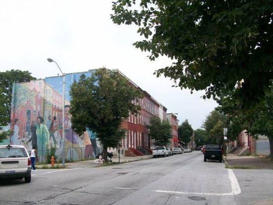 1836 Mcculloh St, Baltimore, MD 21217