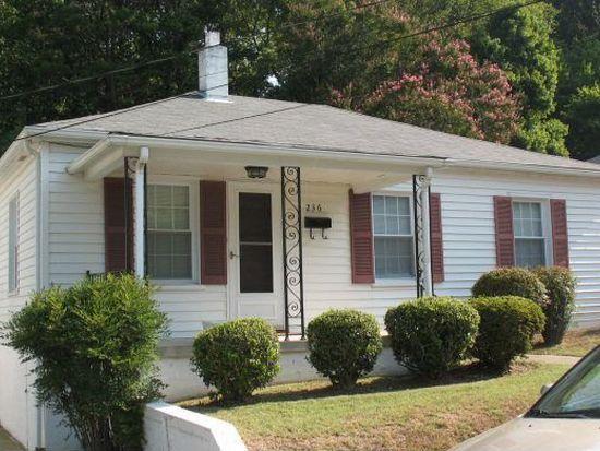 236 Hamlin Ave, Danville, VA 24540