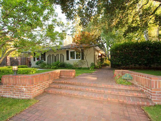 22 Rittenhouse Ave, Atherton, CA 94027