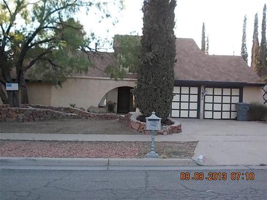 1635 Dale Douglas Dr, El Paso, TX 79936