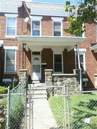 1644 Chilton St, Baltimore, MD 21218