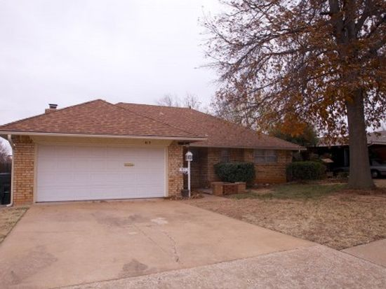 813 W Silver Meadow Dr, Midwest City, OK 73110