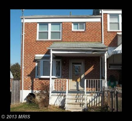 1619 Parkman Ave, Baltimore, MD 21230
