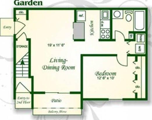2521 Lakefield Mews Ct APT D, Richmond, VA 23231