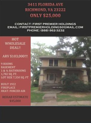 3411 Florida Ave, Richmond, VA 23222