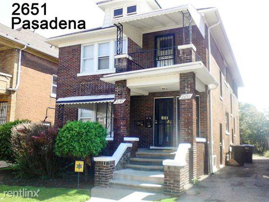 2649 Pasadena St, Detroit, MI 48238