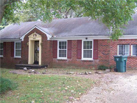 1483 Haywood Ave, Memphis, TN 38127