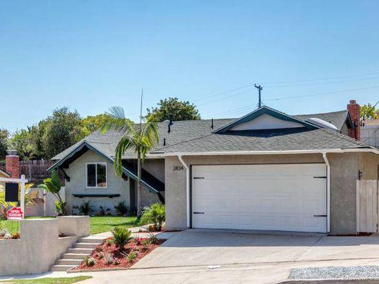 2834 Rockne St, San Diego, CA 92139