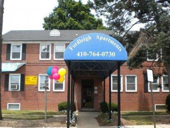 Maryland Baltimore 21215 Glen Fordleigh/Park Plaza Apartments