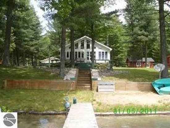 13800 Blue Point Dr NE, Kalkaska, MI 49646