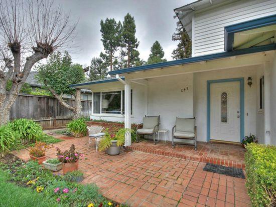 643 Milverton Rd, Los Altos, CA 94022